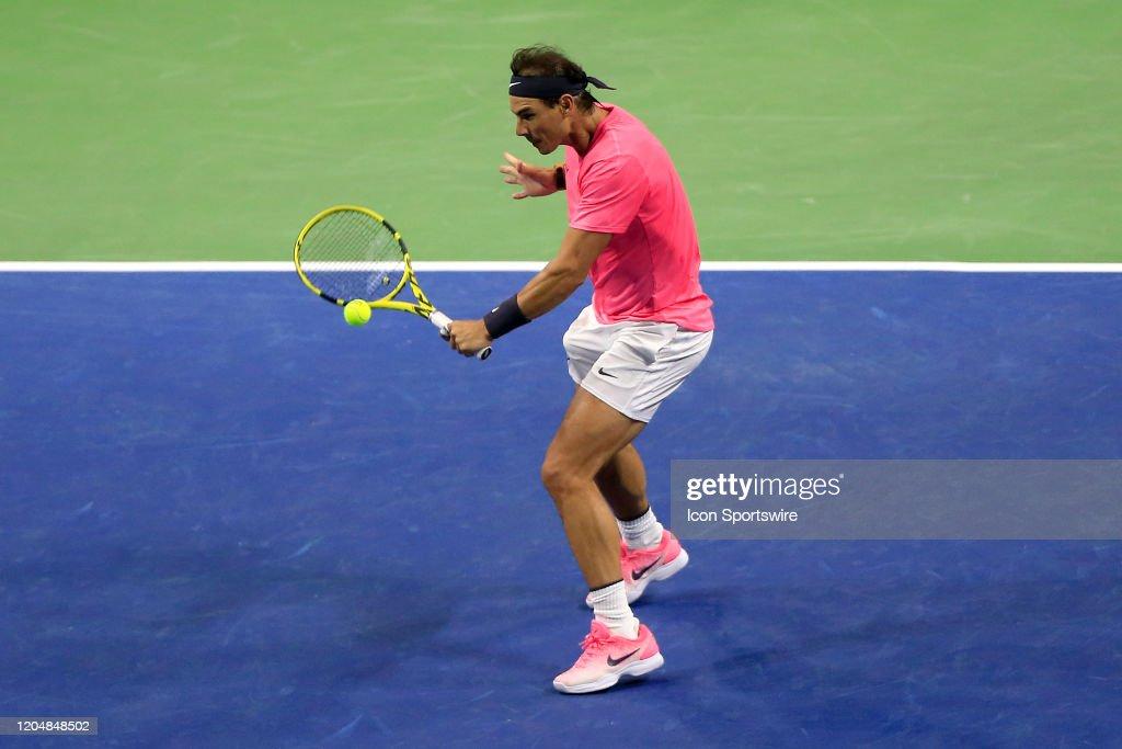 TENNIS: MAR 02 Nadal v Dimitrov : News Photo