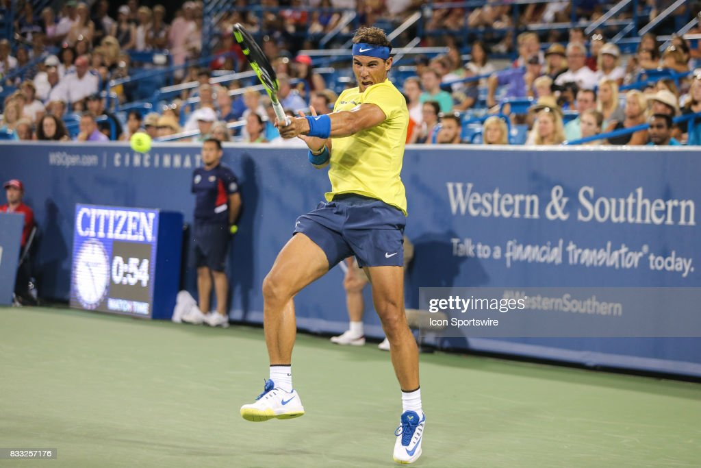 TENNIS: AUG 16 Western & Southern Open : ニュース写真