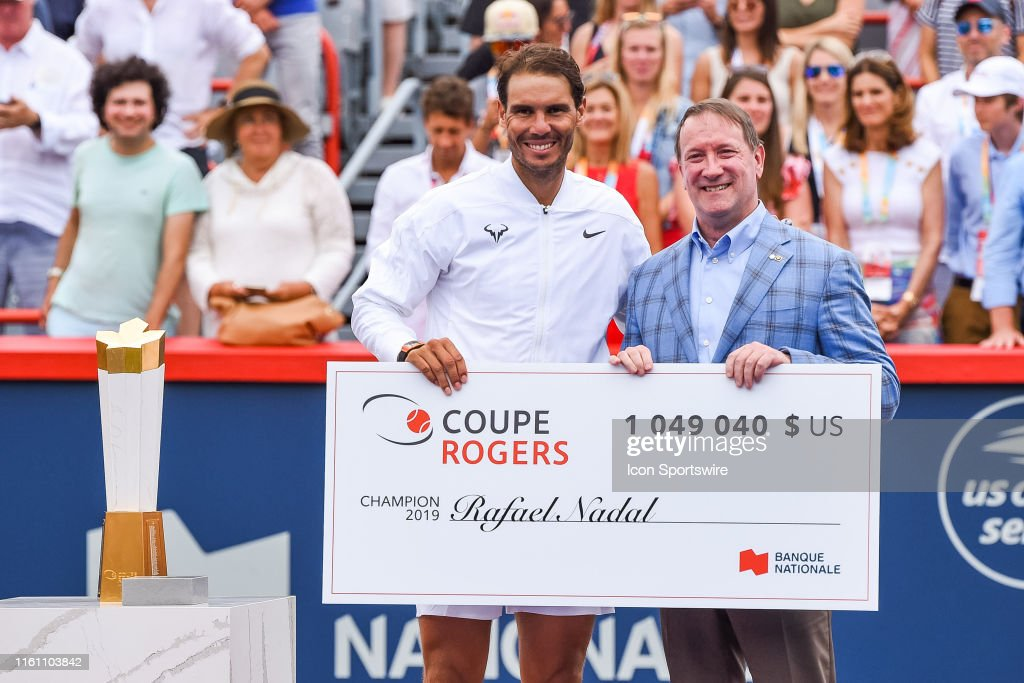 TENNIS: AUG 11 Coupe Rogers : News Photo