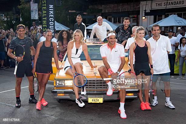 Rafael Nadal Madison Keys Serena Williams Maria Sharapova Nick Kyrgios Andre Agassi Roger Federer Grigor Dimitrov John McEnroe Genie Bouchard and...