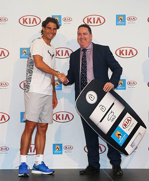 Rafael Nadal Kia Key Handover Photos and Images | Getty Images