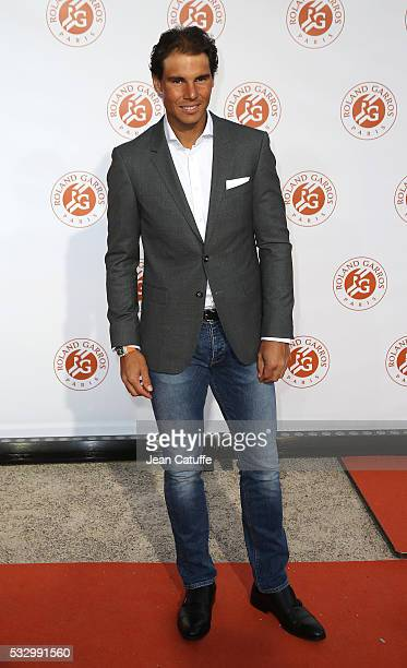 Rafael Nadal of Spain attends the 2016 French Open Players' Party held at the Petit Palais on May 19 2016 in Paris France
