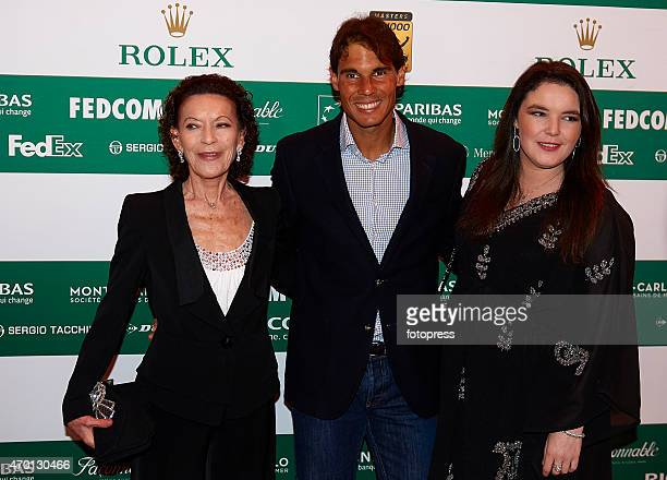 Rafael Nadal of Spain attends the 23nd Grand Tennis Night at the Salle des Etoiles on April 17 2015 in MonteCarlo Monaco