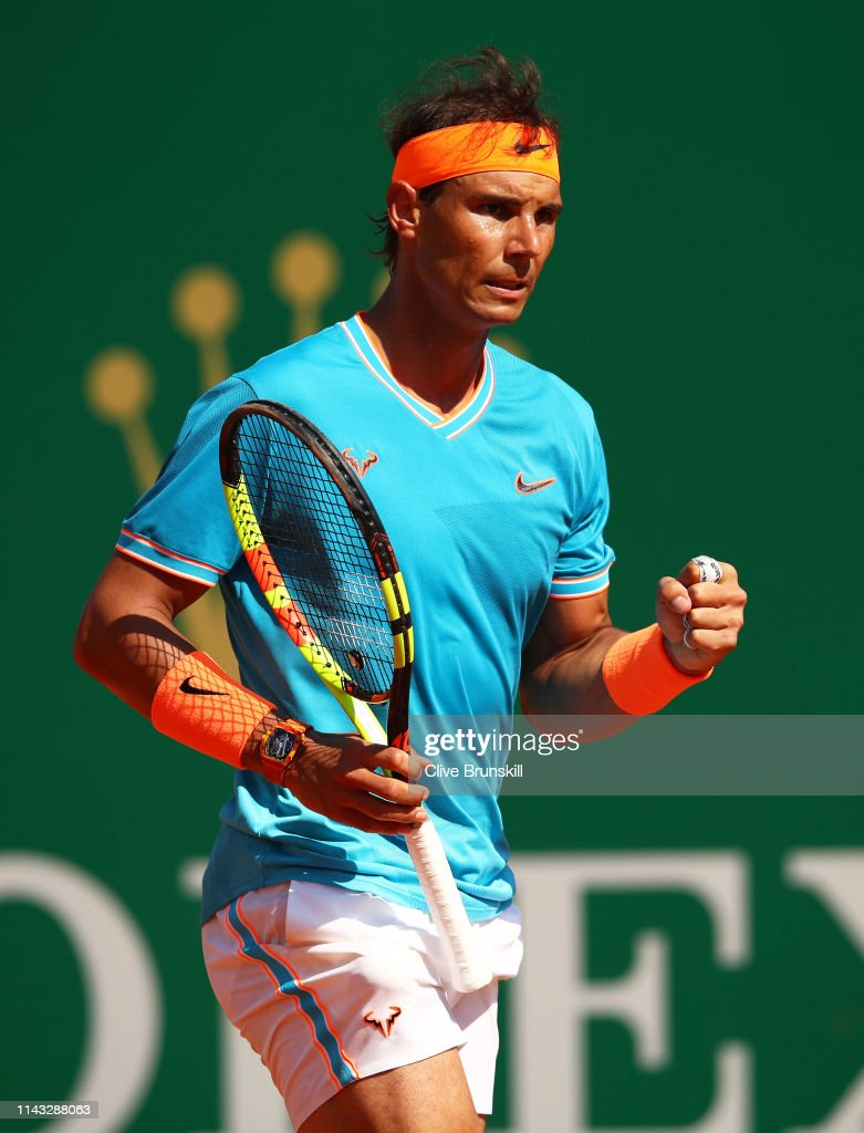 Rolex Monte-Carlo Masters - Day Four : News Photo