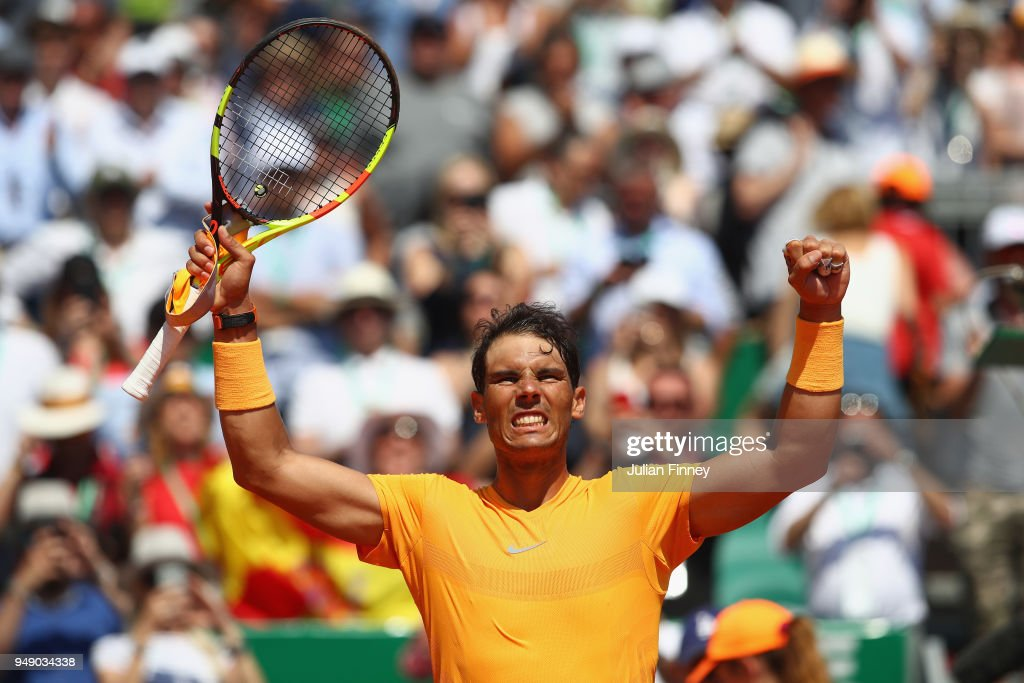 ATP Masters Series: Monte Carlo Rolex Masters - Day Six : News Photo
