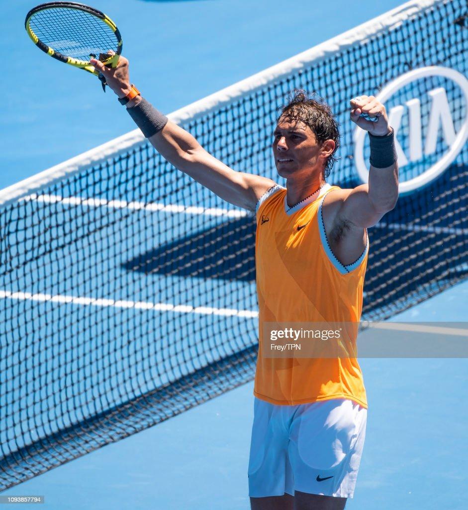 2019 Australian Open - Day 1 : Foto jornalística