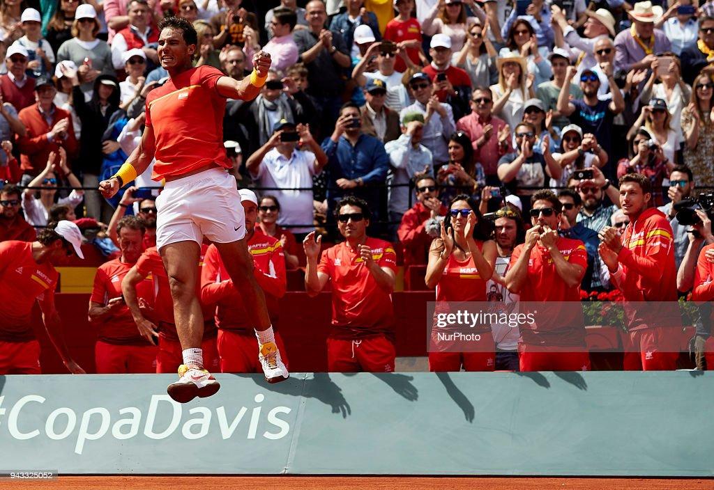 Spain v Germany - Davis Cup by BNP Paribas World Group Quarter Final : News Photo