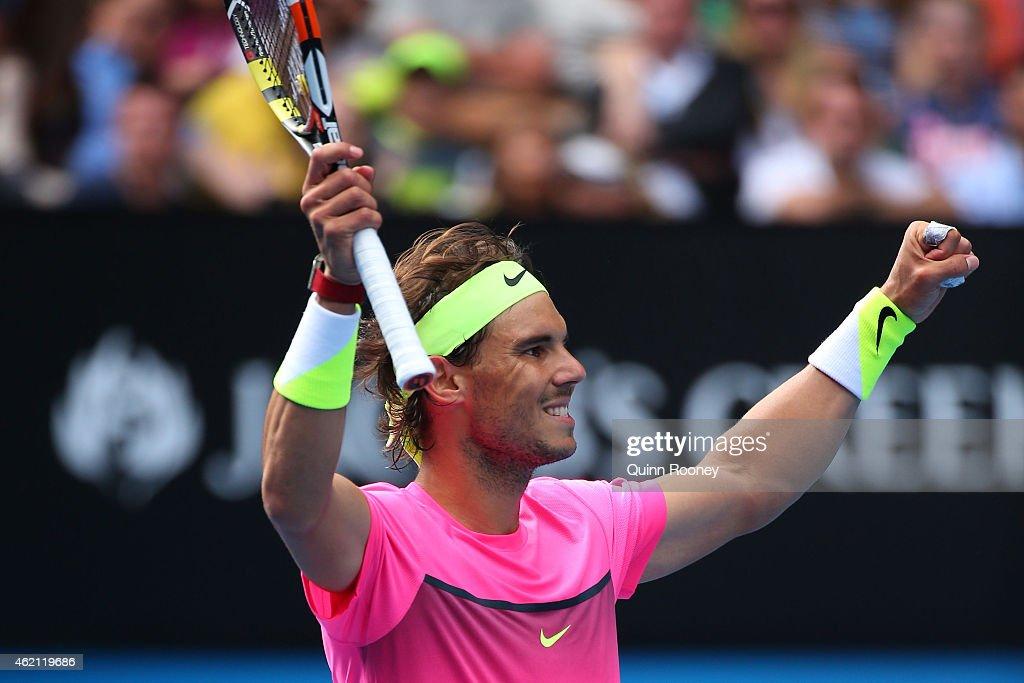 2015 Australian Open - Day 7 : News Photo
