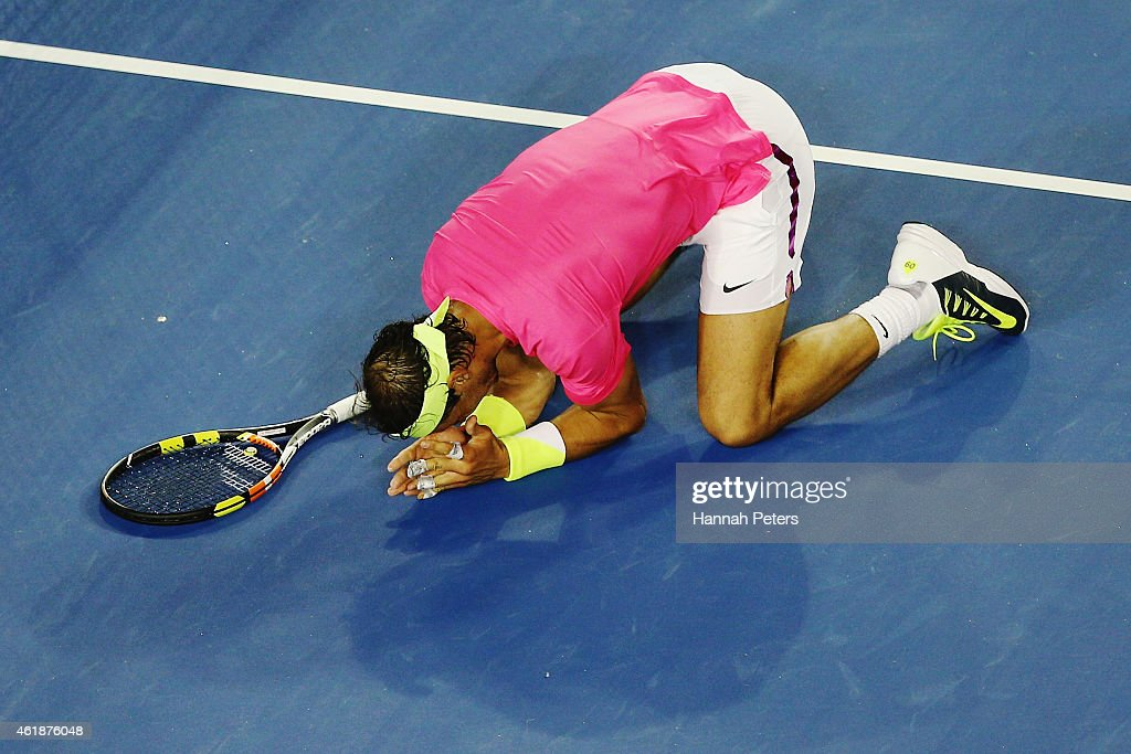 2015 Australian Open - Day 3 : News Photo