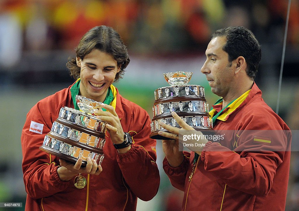 Spain v Czech Republic - Davis Cup World Group Final - Day Three