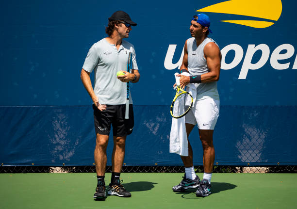 US OPEN HOMMES 2019: les photos et vidéos   Rafael-nadal-of-spain-in-action-during-a-practice-session-with-his-picture-id1169211662?k=6&m=1169211662&s=612x612&w=0&h=1fxwrvrl-JBSGXQwJKjJ2OjuYIJyETrKr657NygVl2w=