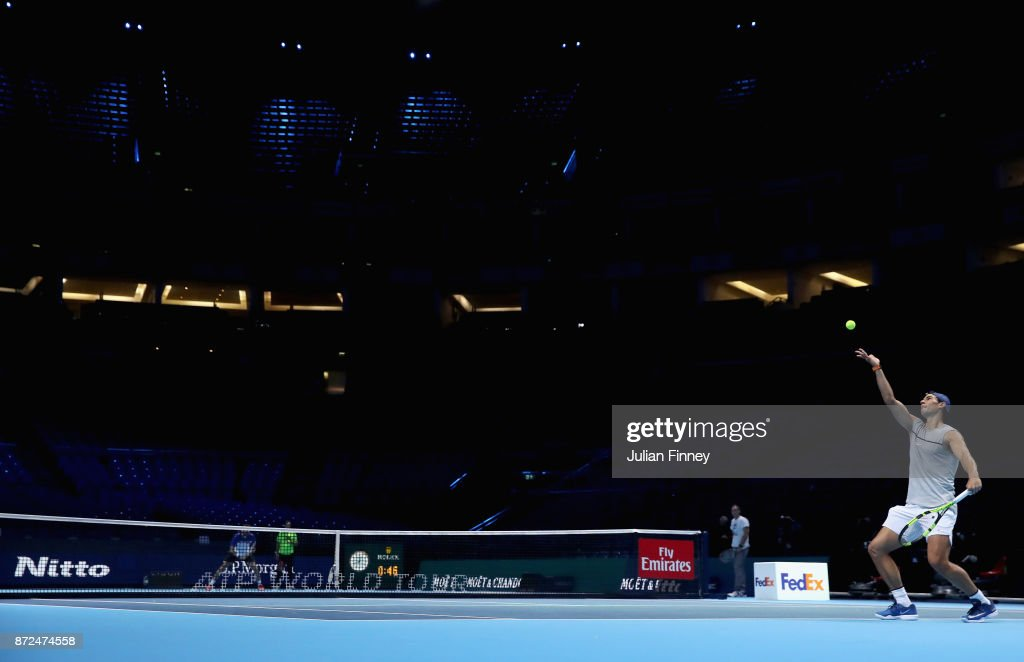 Previews - Nitto ATP World Tour Finals : Nachrichtenfoto