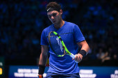 rafael nadal spain his singles match