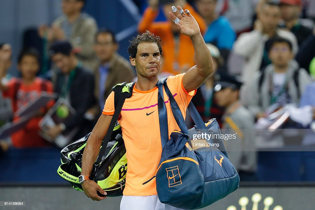 ATP Shanghai Rolex Masters 2016 - Day 4 : News Photo