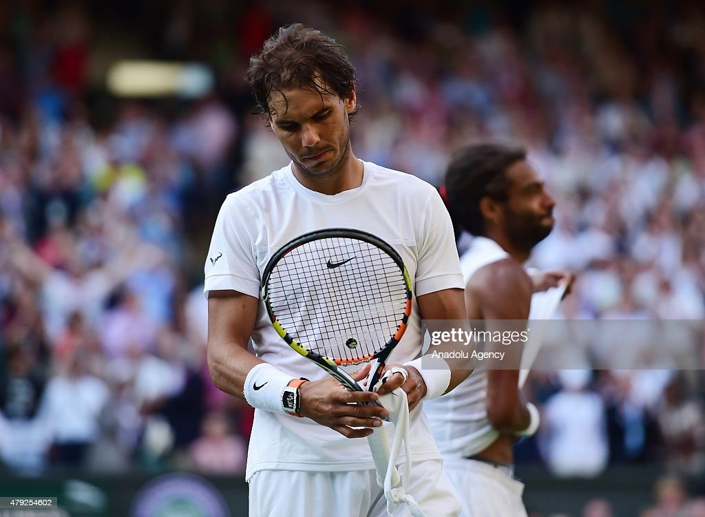 Wimbledon Lawn Tennis Championships - Day Four : News Photo