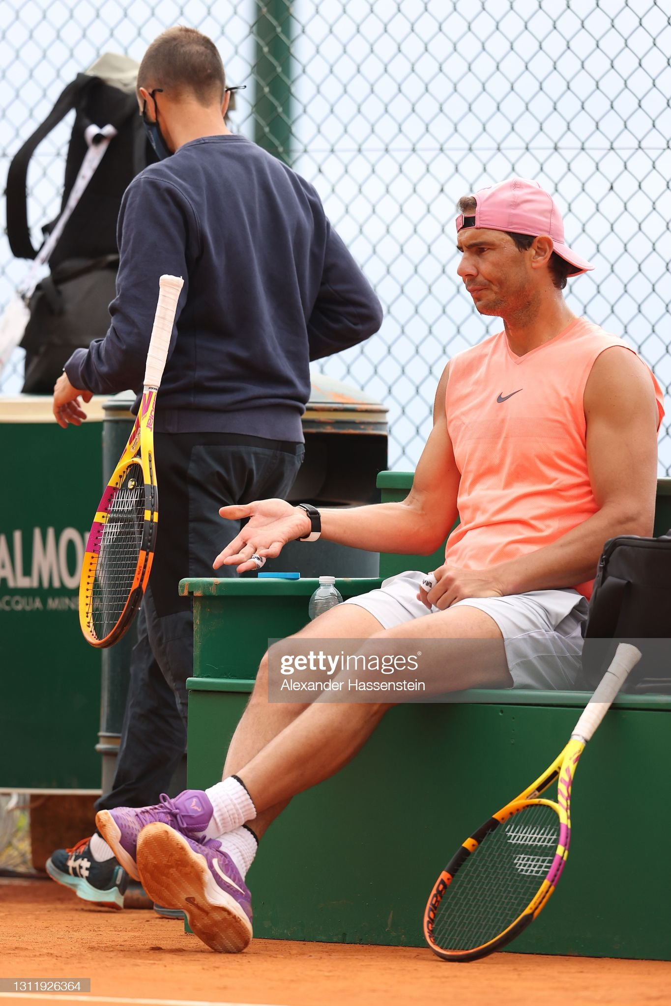 Rolex Monte-Carlo Masters - Training Sessions : News Photo