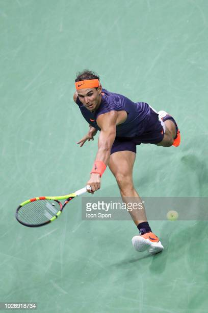 Rafael Nadal of Spain on Day Eight of the 2018 US Open on September 4 2018 in New York United States