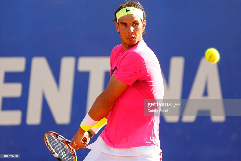 ATP Argentina Open - Carlos Berlocq v  Rafael Nadal : News Photo