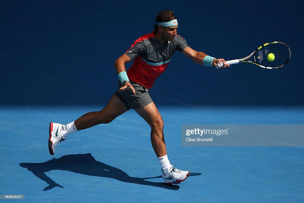 2014 Australian Open - Day 8 : News Photo
