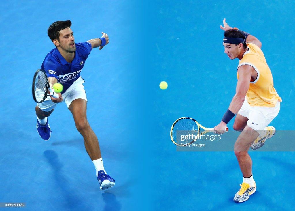 Men's Final Preview - 2019 Australian Open : News Photo