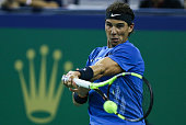 shanghai china rafael nadal spain plays