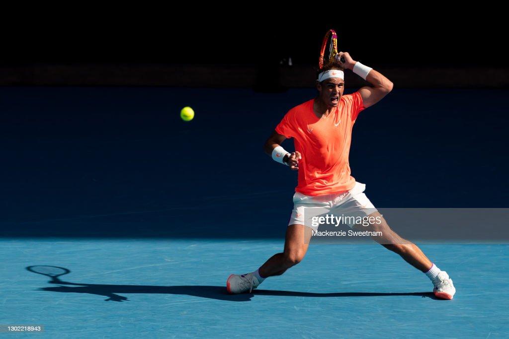 2021 Australian Open: Day 8 : News Photo