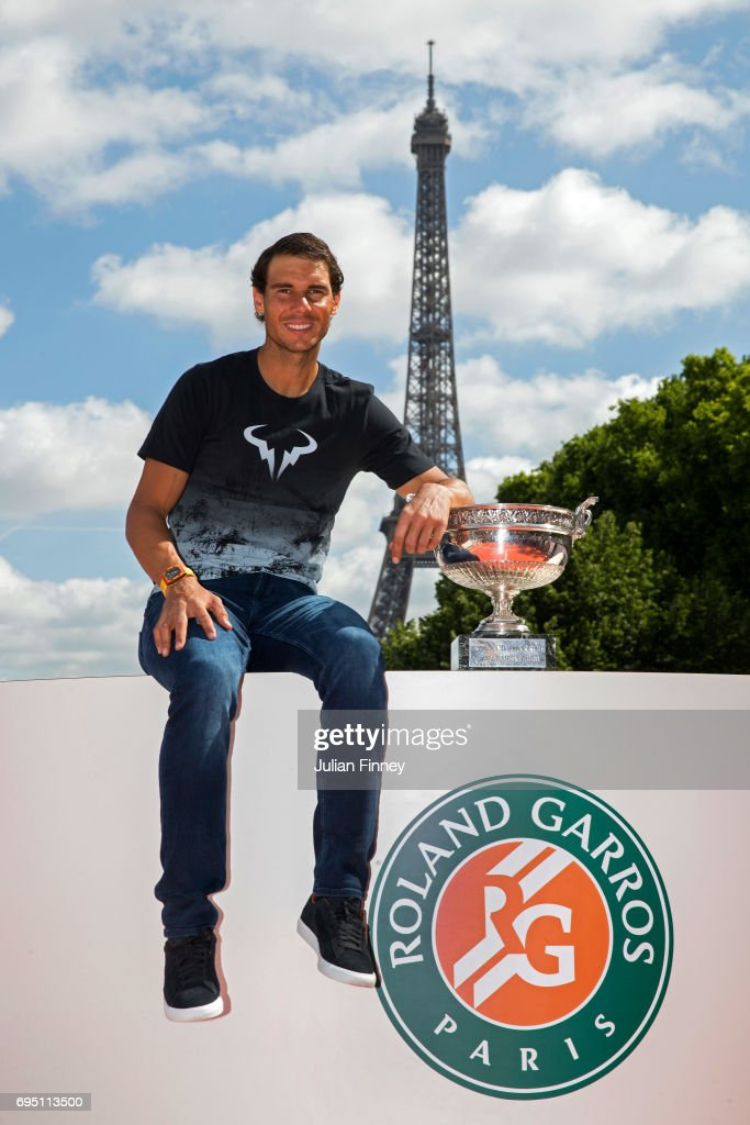 Rafael Nadal Photocall After French Open Victory : News Photo