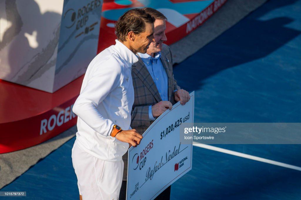 TENNIS: AUG 12 Rogers Cup : News Photo