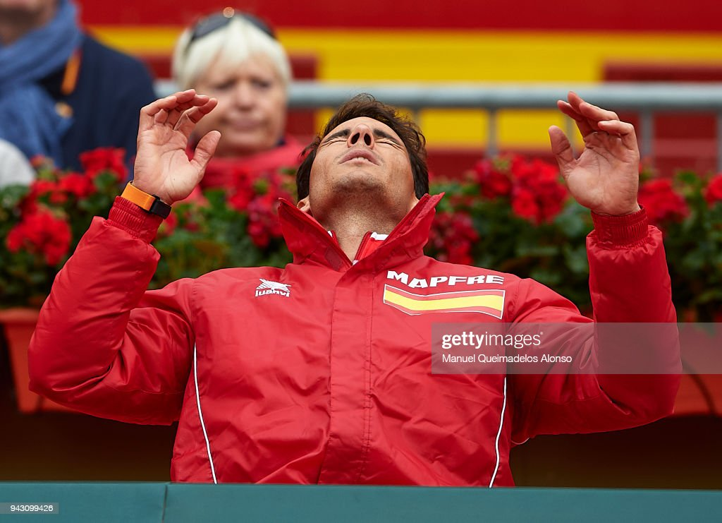 Spain v Germany - Davis Cup by BNP Paribas World Group Quarter Final : News Photo
