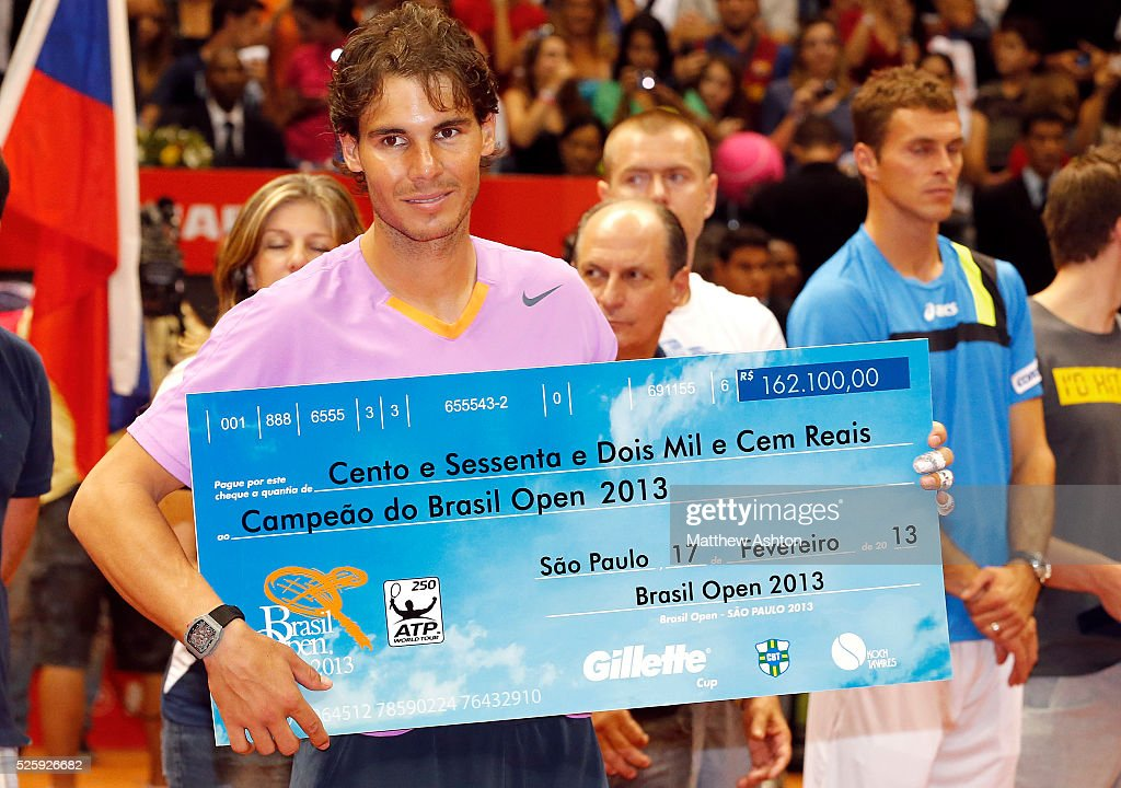 Tennis - Brasil Open 2013 - Rafael Nadal : ニュース写真
