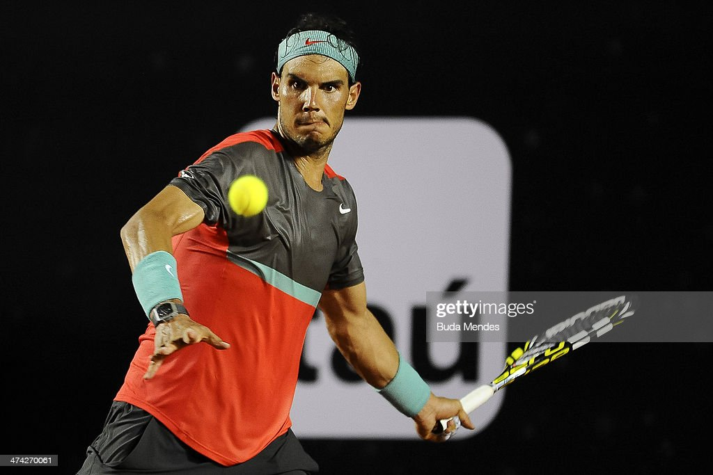 ATP Rio Open 2014 - Semifinals : News Photo