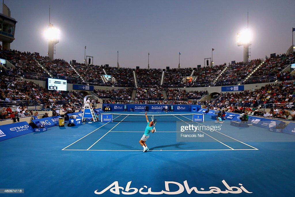 Mubadala World Tennis Championship - Day Two : News Photo