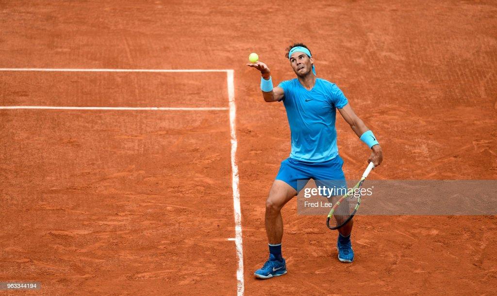 2018 French Open - Day Two : Nachrichtenfoto
