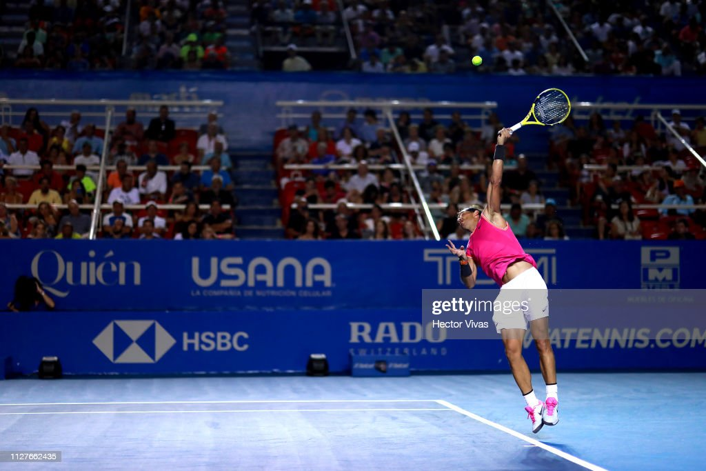 Telcel ATP Mexican Open 2019 - Day 2 : News Photo