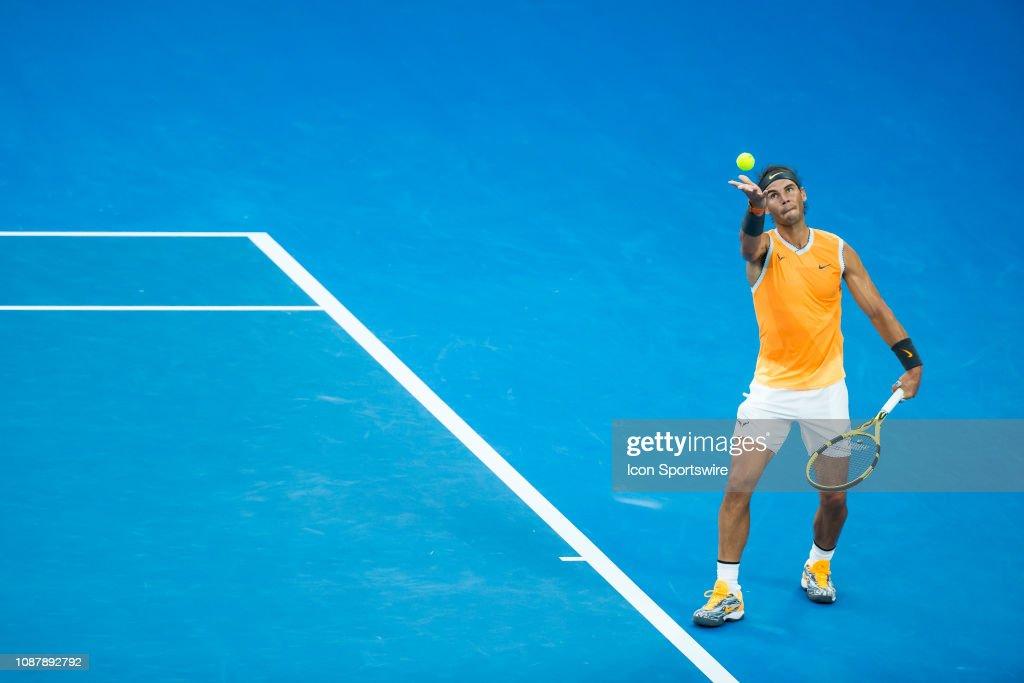 TENNIS: JAN 24 Australian Open : Nachrichtenfoto