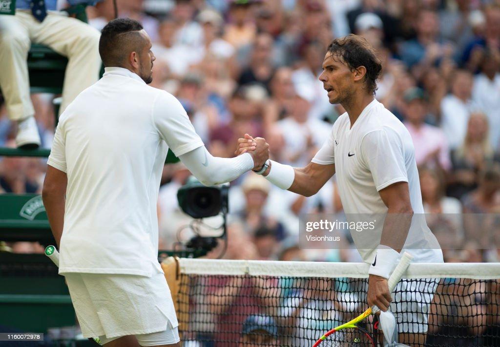 Day Four: The Championships - Wimbledon 2019 : Nachrichtenfoto