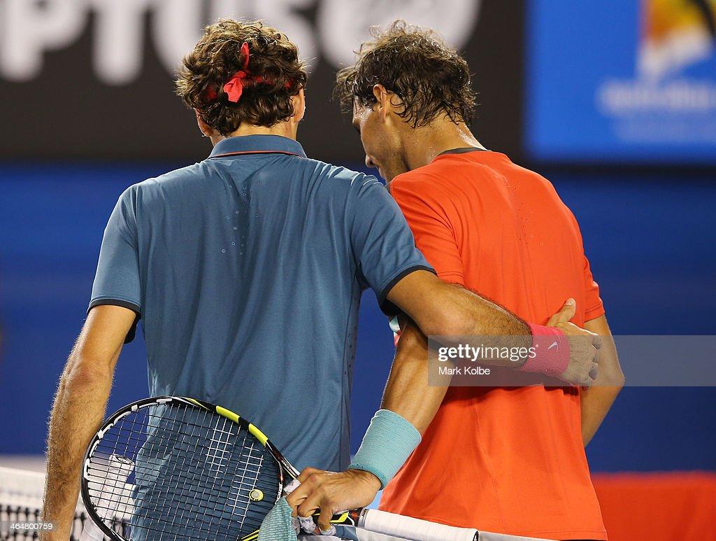 2014 Australian Open - Day 12 : News Photo