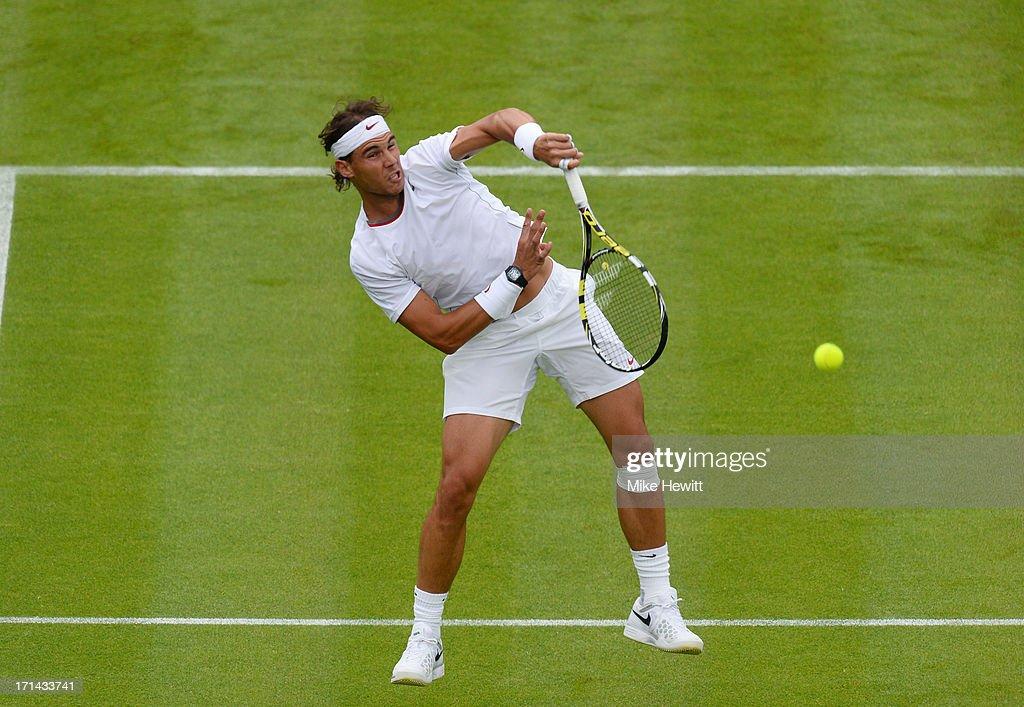 The Championships - Wimbledon 2013: Day One : News Photo
