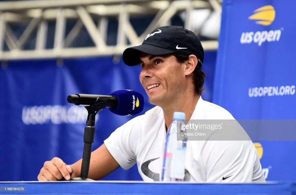 2019 US Open - Media Day : Photo d'actualité