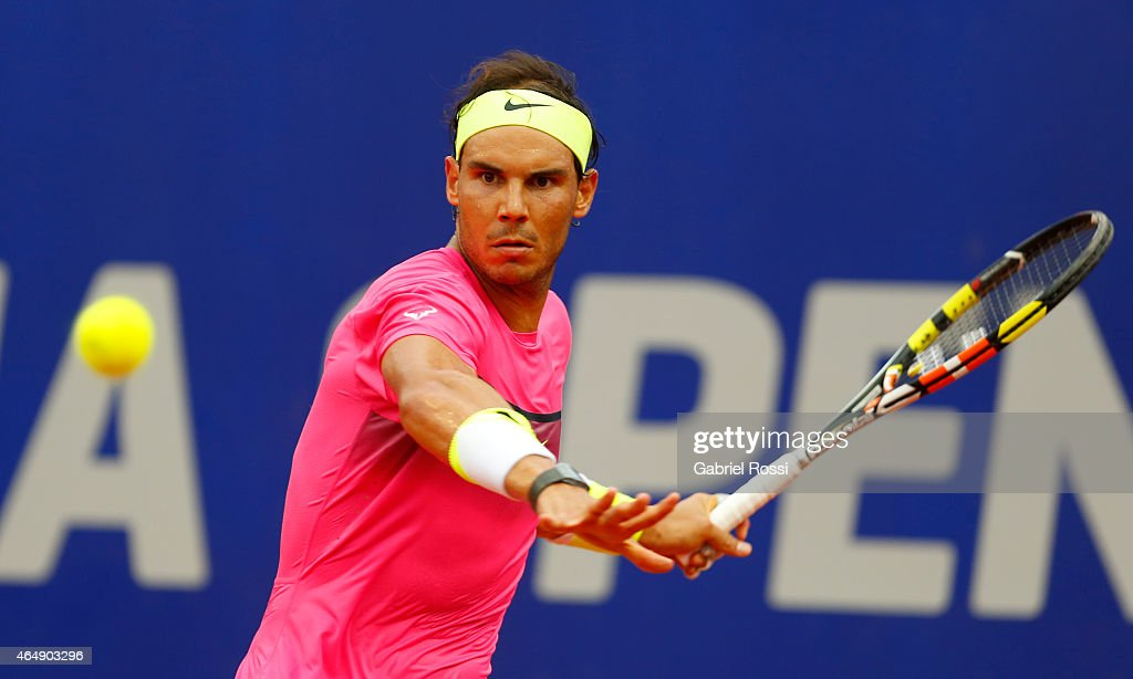 ATP Argentina Open - Rafael Nadal v Juan Monaco : News Photo