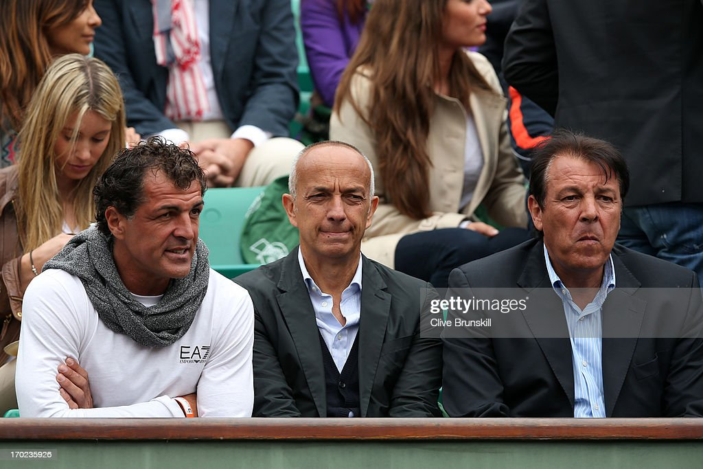 Rafael Nadal Of Spain S Father Sebastian Nadal And Uncle Miguel Nadal News Photo Getty Images