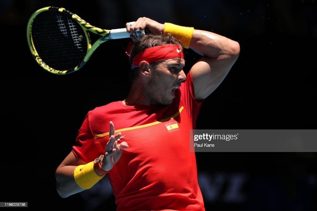 2020 ATP Cup - Perth: Day 6 : Nieuwsfoto's