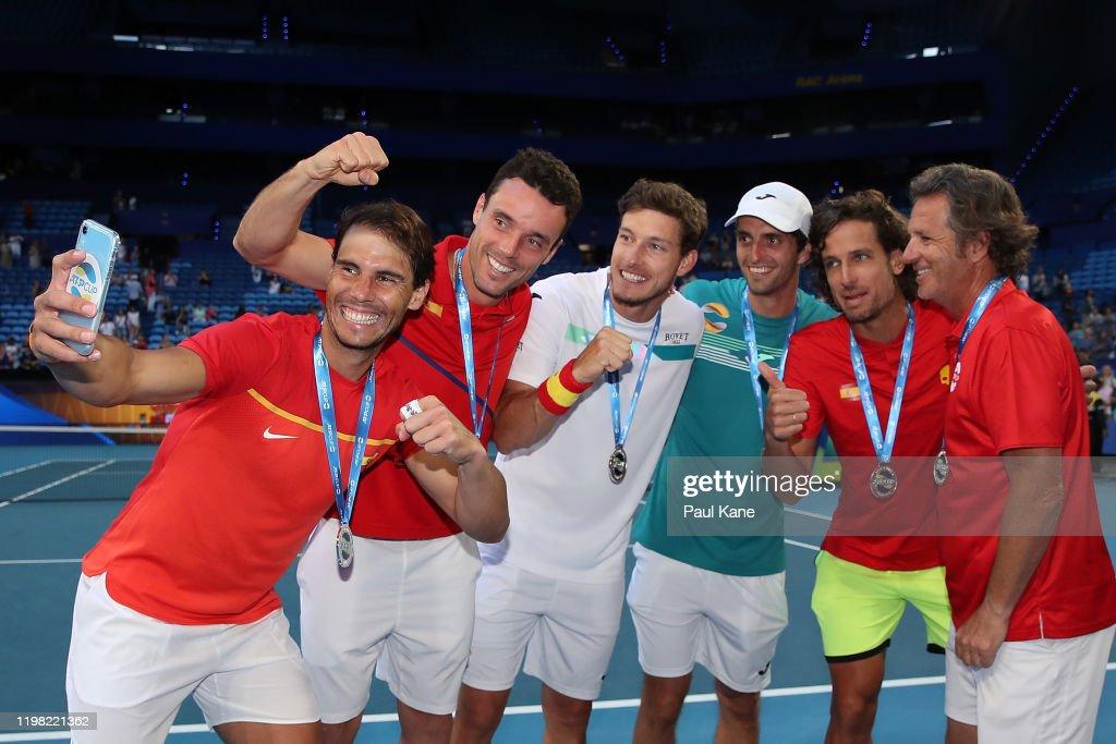 2020 ATP Cup - Perth: Day 6 : ニュース写真