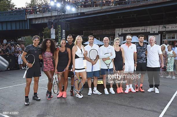 Rafael Nadal Serena Williams Genie Bouchard Nick Kyrgious Maria Sharapova Pete Sampras Andre Agassi Madison Keys Roger Federer Grigor Dimitrov and...