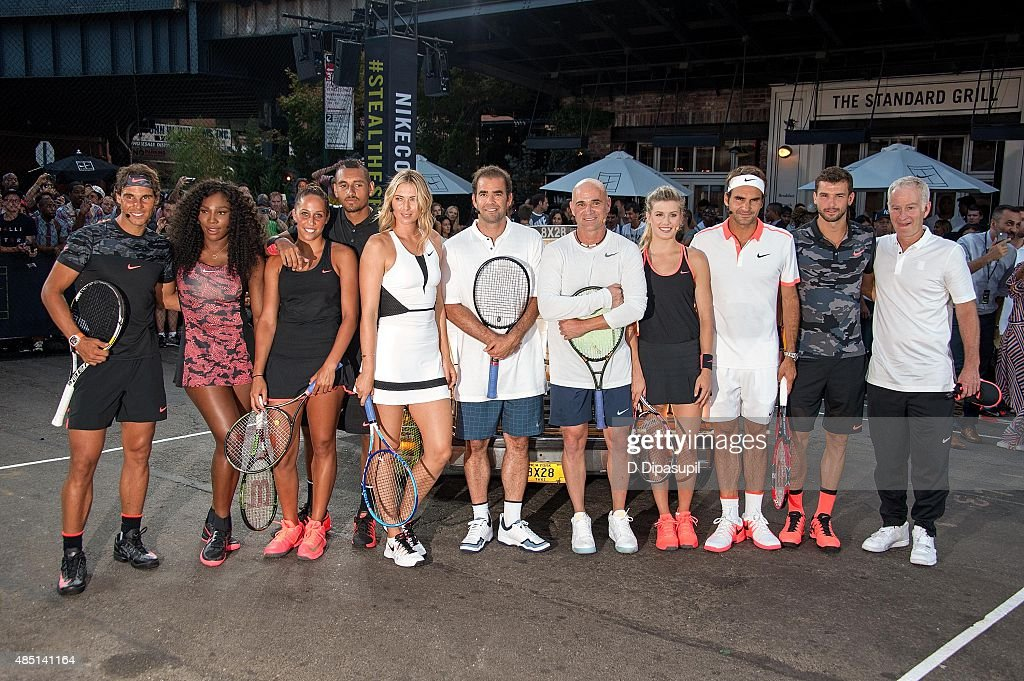 "Nike's ""NYC Street Tennis"" Event : News Photo"