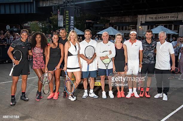 Rafael Nadal Serena Williams Madison Keys Nick Kyrgios Maria Sharapova Pete Sampras Andre Agassi Genie Bouchard Roger Federer Grigor Dimitrov and...