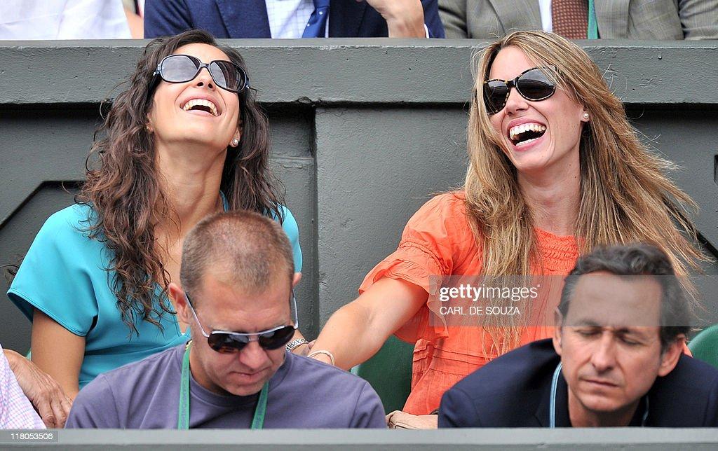 Rafael Nadal's girlfriend Maria Francisca Perello,