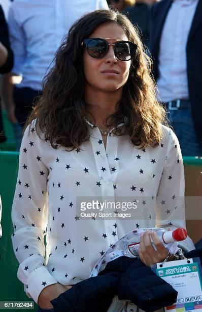 Rafael Nadal's girlfriend Maria Xisca Perello attends day seven of the ATP Monte Carlo Rolex Masters Tennis at MonteCarlo Sporting Club on April 22...