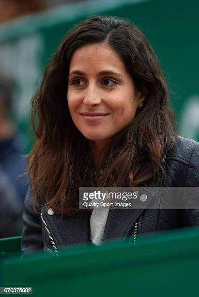 Rafael Nadal's girlfriend Maria Xisca Perello attends during day four of the ATP Monte Carlo Rolex Masters Tennis at MonteCarlo Sporting Club on...