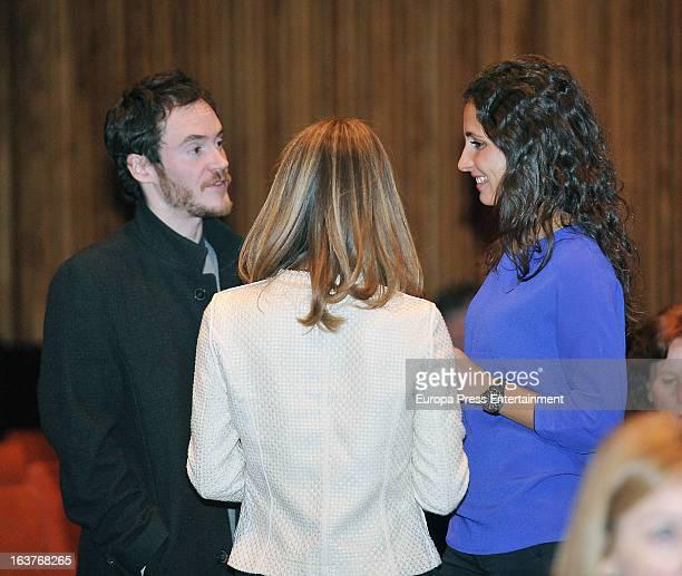 Rafael Nadal's girlfriend Xisca Perello attends a piano recital at Gran del Teatre Liceu on March 14 2013 in Barcelona Spain